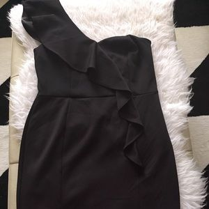 New truly gorgeous one sided LBD dress